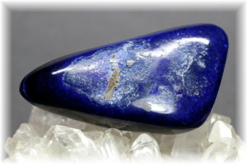 モロッコ産アズライト磨き石/フリーフォーム(AZURITE-PF502IS)
