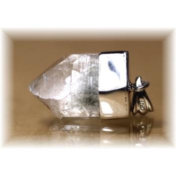 ガネッシュヒマール産ヒマラヤ水晶スーパーナチュラル ペンダント(GANEZA-SUPEARNUTURAL140)