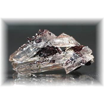 広東省産ヘマタイト&水晶ナチュラルポイント(HEMATITE-QUARTZNP108)