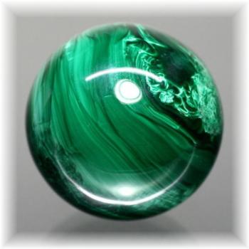 ザイール産マラカイト丸玉(MALACHITE-QR405)