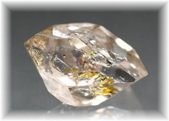 パキスタン産ハーキマー型オイル入り水晶(OILQUARTZ-PA207)