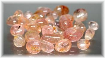 ブラジル産ピンク・オレンジカラートルマリン タンブル100gパック(TOURMARINE-TMB301IS)